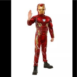 Marvel Avengers Iron Man Muscle Costume